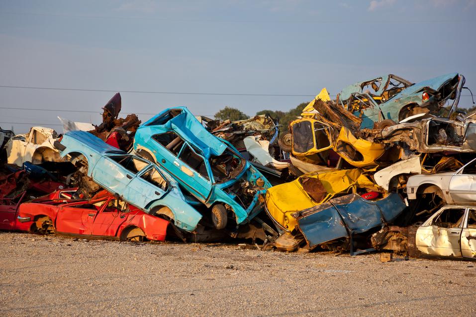 Italia: macchine obsolete